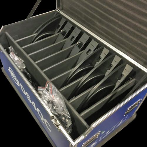 ADJ Flight Case for DS4 LED Panels / 10 PCS / DS4FC10