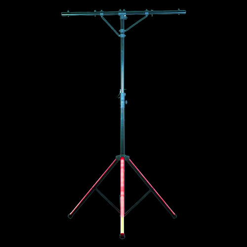 ADJ LTS Color T-Bar Stand w/ LED Lighting