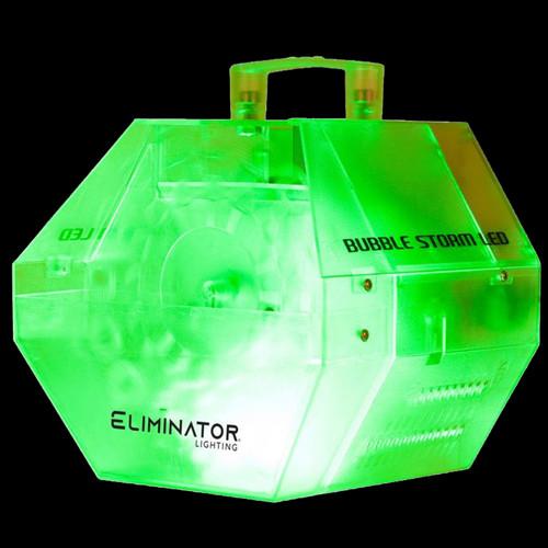 Eliminator Lighting Bubble Storm LED Bubble Machine