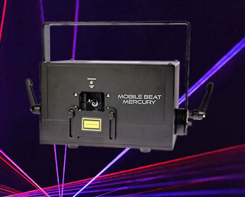 X-Laser Mobile Beat Mercury RGB Full Color ILDA Laser Projector