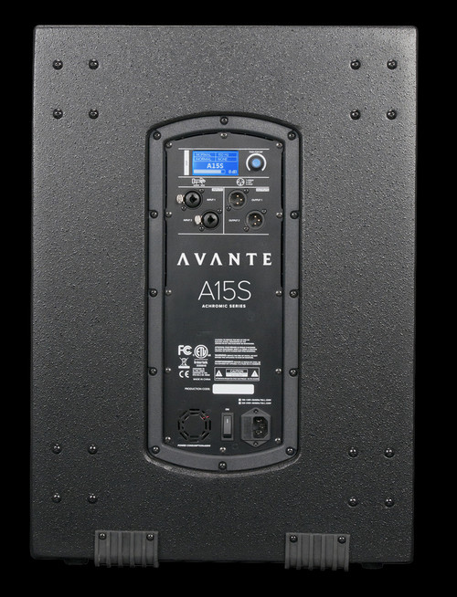 Avante Audio A15S 15-inch, Active Subwoofer