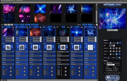 ArKaos Media Master Express Software / Backup Boxed