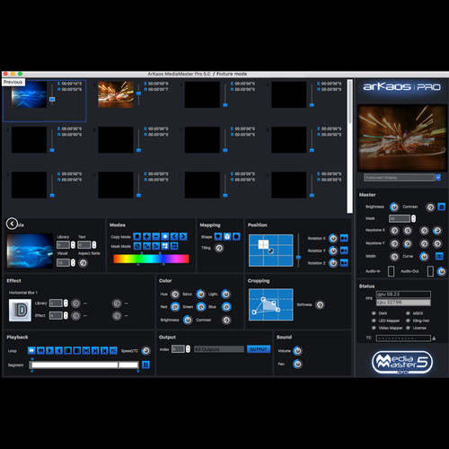 ArKaos Media Master Pro (Upgrade from PRO 4 to PRO 5)