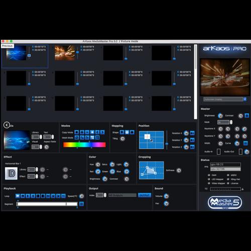 ArKaos Media Master Pro (Upgrade from PRO 4 to PRO 5)