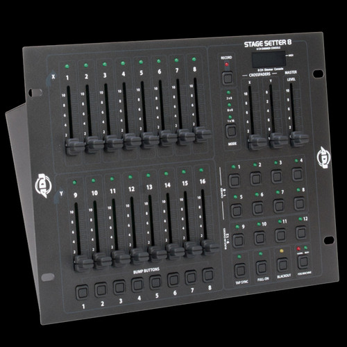 ADJ Stage Setter 8 DMX-512 / MIDI Compatible Lighting Control Board