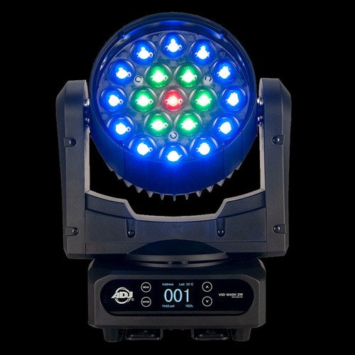 ADJ Vizi Wash Z19 Moving Head Wash w/ Motorized Zoom