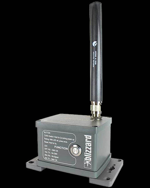 Blizzard Lighting LightCaster W-DMX IP IP65 Wireless W-DMX Transceiver