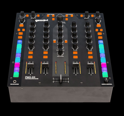 Gemini PMX-20 Digital DJ Performance Mixer
