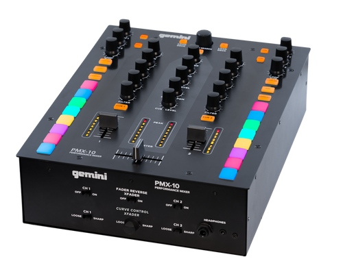 Gemini PMX-10 Digital DJ Performance Mixer
