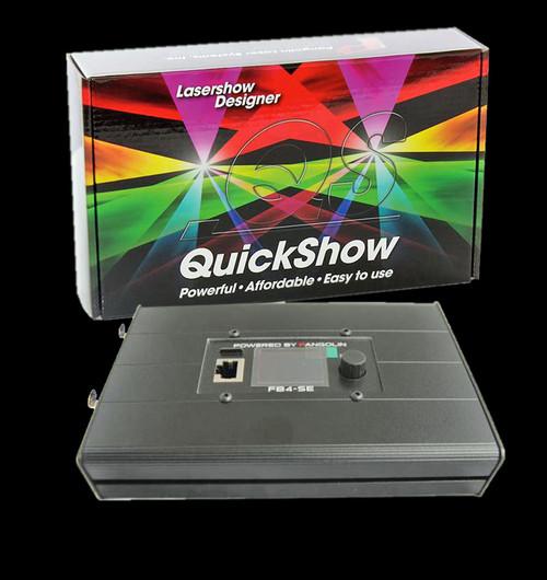 Pangolin FB4 External DMX w/ QuickShow