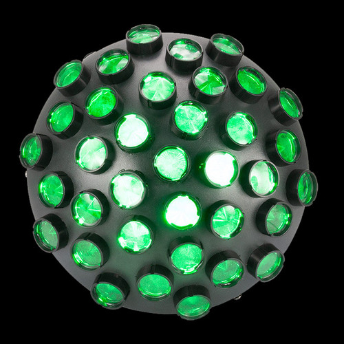 ADJ Startec Contour LED Multi-colored Mirror Ball Effect Light