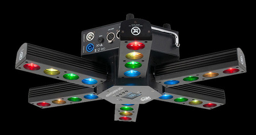 ADJ Starship QUAD LED DJ Centerpiece Effect Light w/ DMX