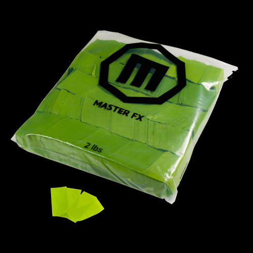 Master FX Paper Confetti – Light Green