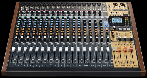 TASCAM Model 24 / 24 Channel Multitrack Recorder w/ USB Interface / Analog Mixer