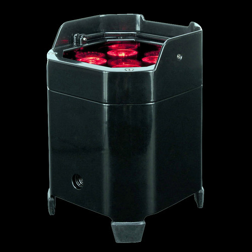 ADJ Element HEX FC Pak Battery PWD LED Par Can Lighting Package / Wireless DMX