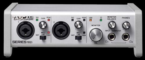TASCAM Series 102i USB Audio w/ MIDI Interface