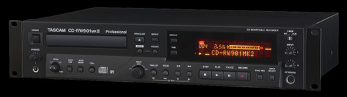 TASCAM CD Recorder/ Player / CD-RW901MKII