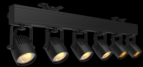 ADJ Saber Bar 6 LED WW 6-head Pinspot Lighting System