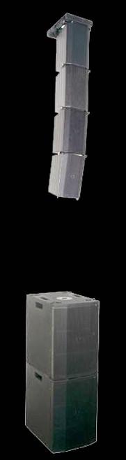 Avante Imperio Show Rig PWD 4 Box Flown Speaker Array w/ Ground Subs