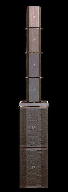 Avante Imperio Ground Stack XL 4 Box PWD Flown Speaker Array w/ Subwoofers