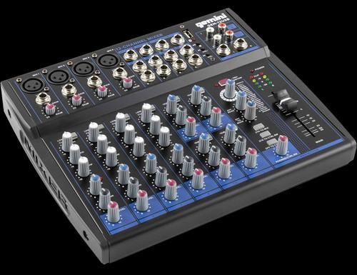 Gemini GEM-12USB 12 Channel USB Mixer w/ Bluetooth