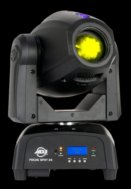 ADJ Focus Spot 2X LED Moving Head Club Light + UV