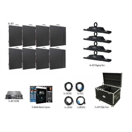 ADJ AV3 4x2 LED Video Panel Wall System