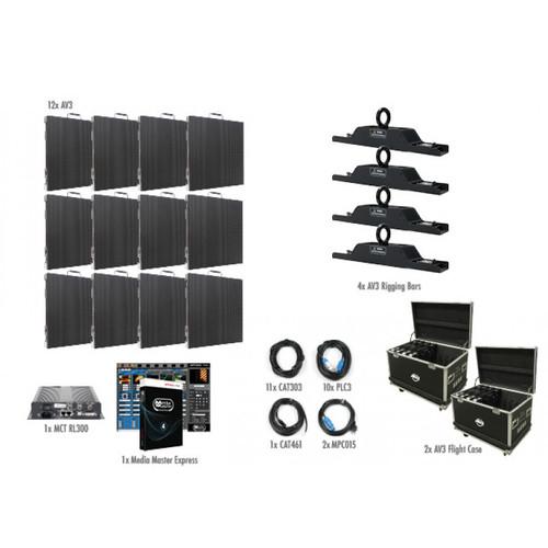 ADJ AV3 4x3 LED Video Panel Wall System