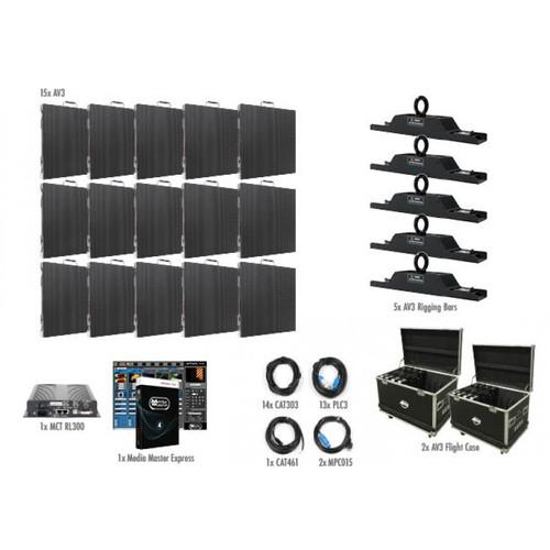 ADJ AV3 5x3 LED Video Panel Wall System