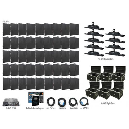 ADJ AV3 10X6 LED Video Panel Wall System