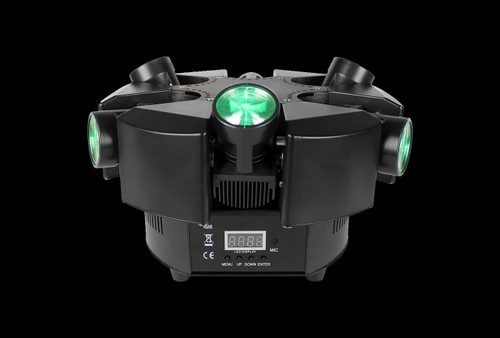 Blizzard Lighting Shoqwave X6 6-Head Moving Beam Light