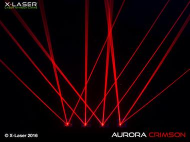 X-Laser Aurora Crimson Red Laser Beam Liquid Sky Laser ...