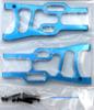 06050, 106019, 106619 Alloy Front Arm Suspension 1/10 Scale HSP Redcat ETC Blue