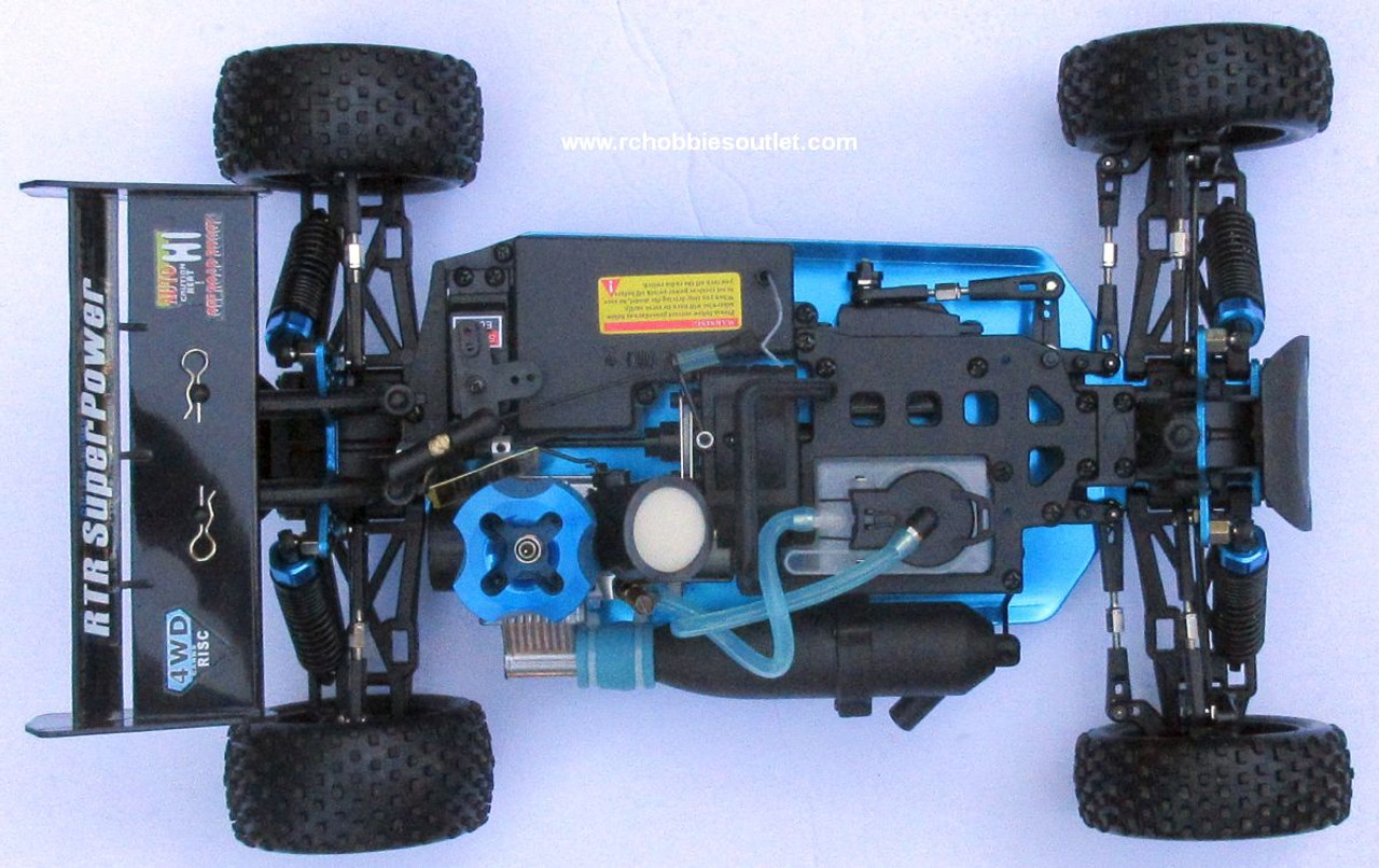 HSP WARHEAD RC Buggy / Car Nitro Gas Engine 2 Speed 1/10 Scale 2.4G  MA4 B