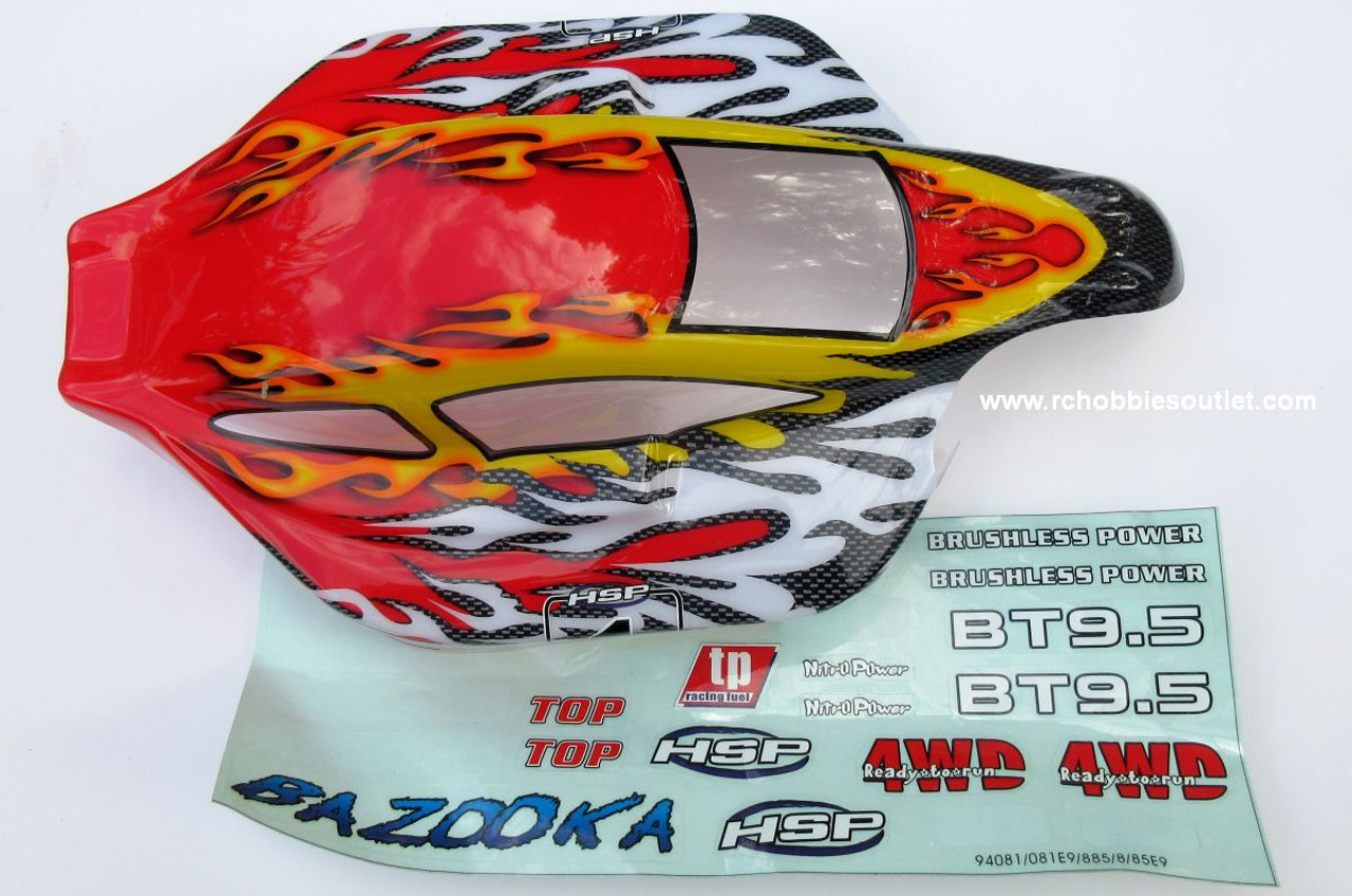 81355  1/8 SCALE BODY SHELL for RC BUGGY