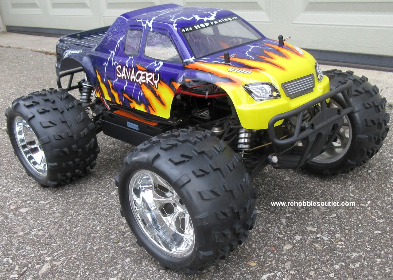 RC Nitro Truck NOKIER 1/8 Scale, Radio Control Car 3.5cc  2 Speed 4WD  08062-2