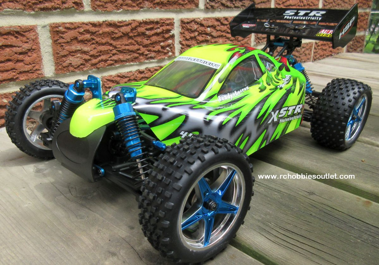 RC Brushless Electric Buggy / Car HSP 1/10 Scale XSTR-TOP2 LIPO  2.4G 10707