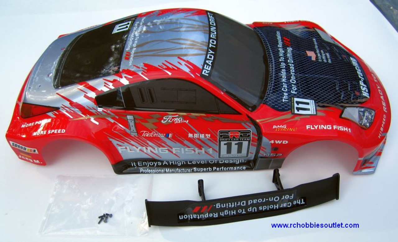 12310 HSP  RC CAR 1/10 SCALE BODY SHELL