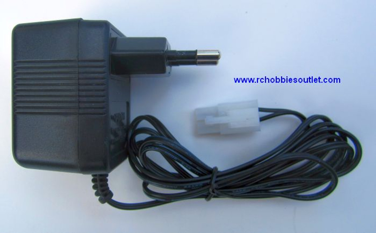 7.2 VOLT NIMH RC Battery Charger  250mA Tamiya Connector, Europe Plug