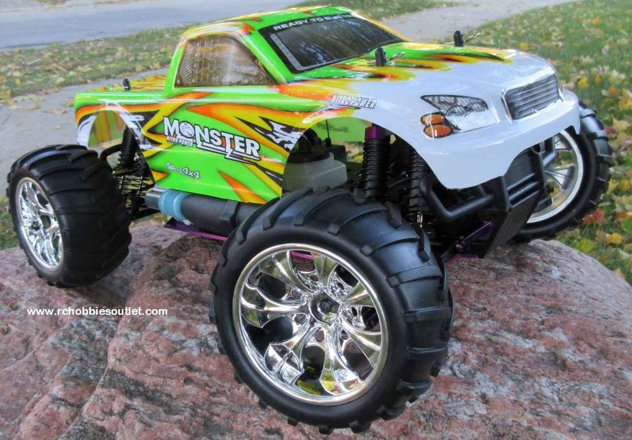 RC  Nitro Monster Truck Radio Remote Control RTR RC 2.4G  88009