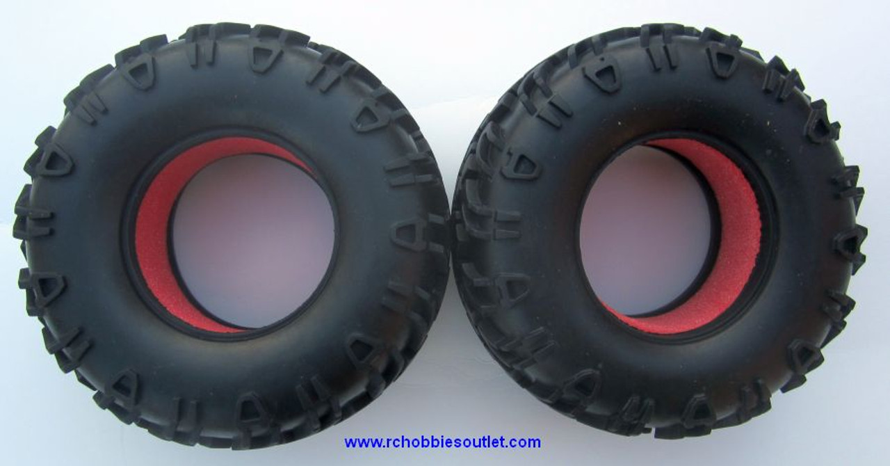 18013 Tire for  1/10 Scale Rock Crawler HSP ( 2 Pieces)
