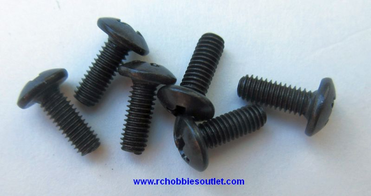 60077 Cap Head Self-tapping Screw 3*6 mm (6 pieces)