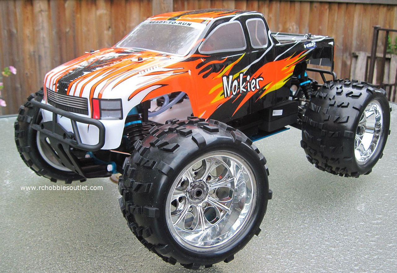 RC Monster Nitro Truck 1/8 Scale Radio Control RC 4WD 2.4G 94862