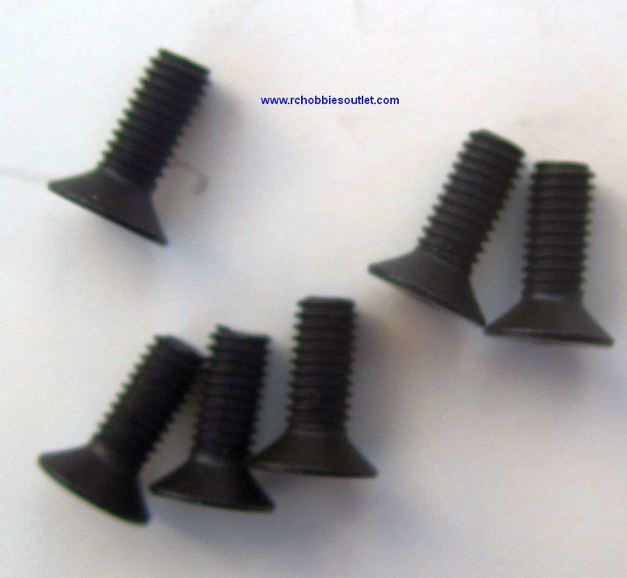 60111 Countersunk Mechanical Screw 3*8mm HSP ( 6 pieces)