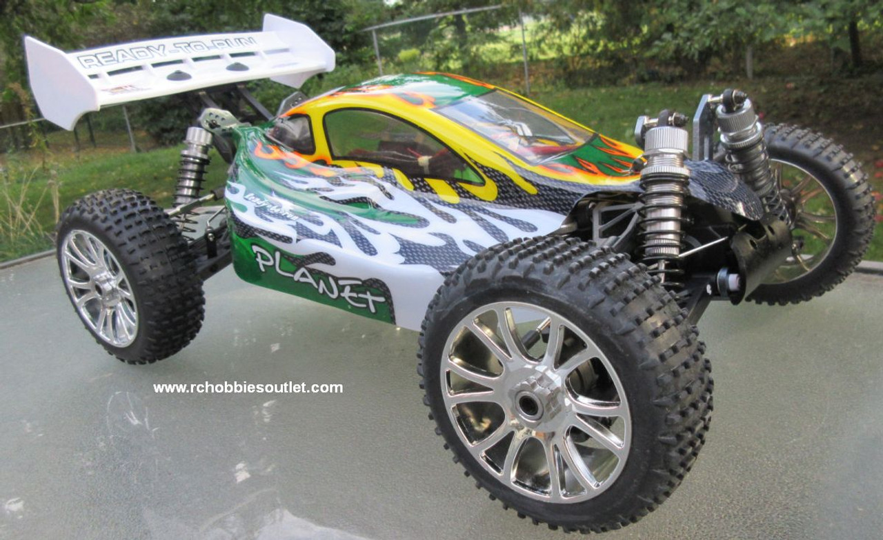 RC Car / Buggy  Brushless Electric 1/8 Scale TOP2 PRO LIPO 4WD  81356