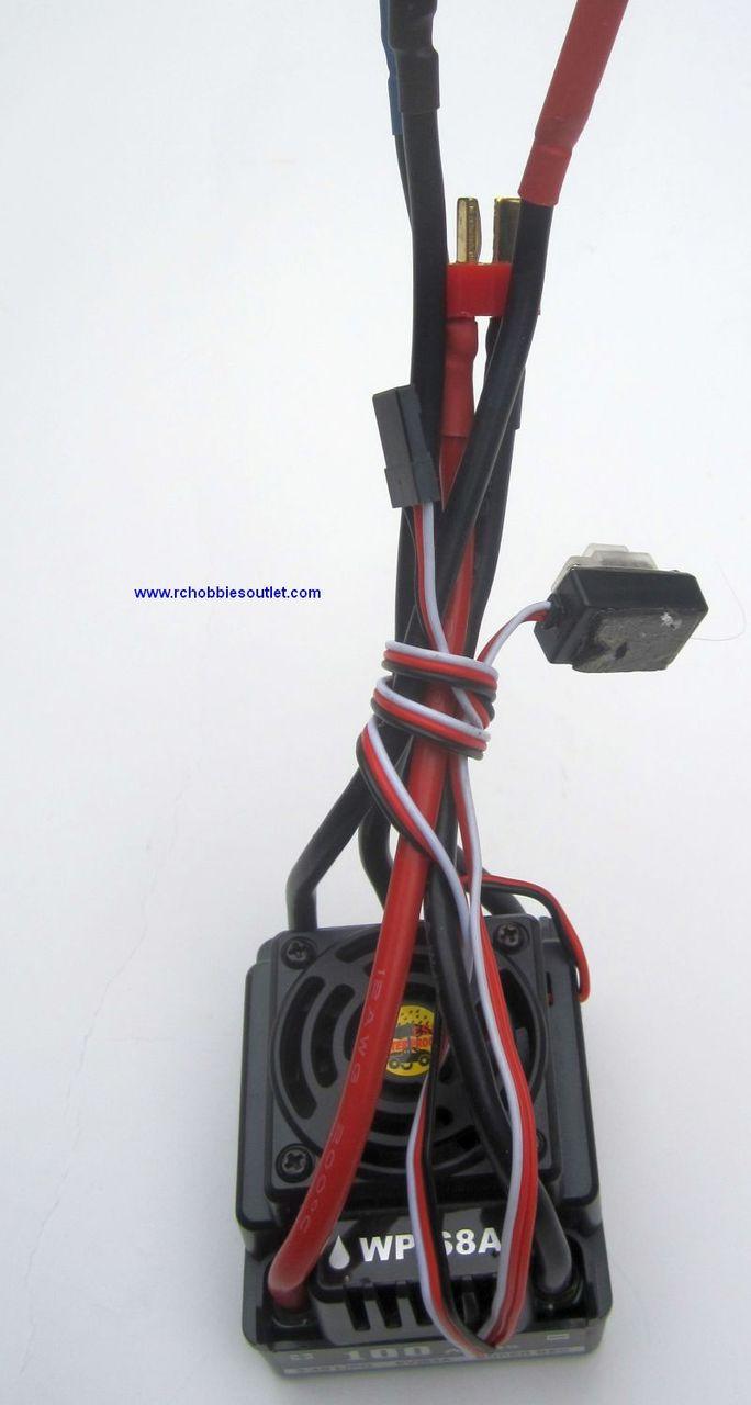 13308 Waterproof 100 AMP Brushless ESC HOBBYWING
