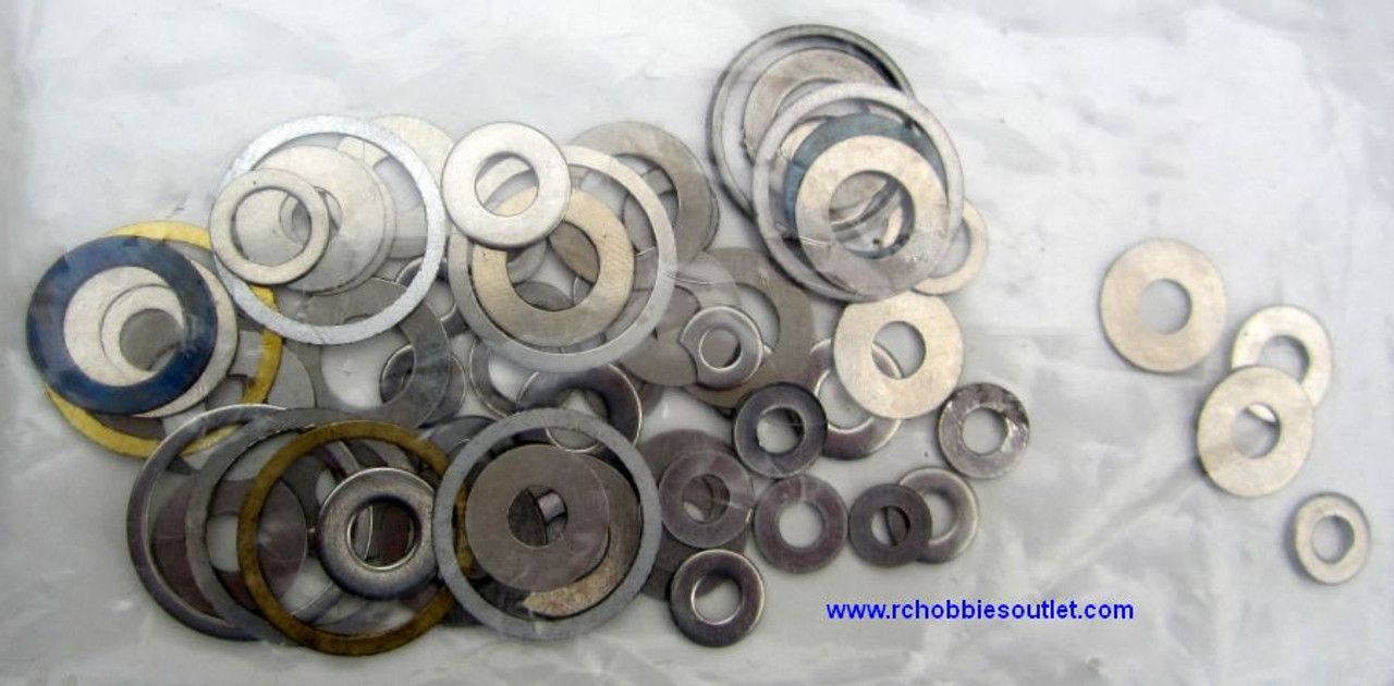 81069 Washers Complete HSP RC Nitro, Redcat 1/8 Parts