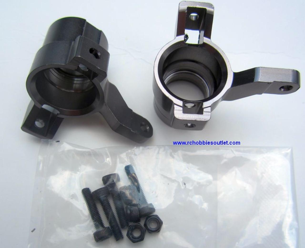 81705 Alloy Steering Arm/Hubs  1/8 Scale HSP BAZOOKA TORNADO, Redcat