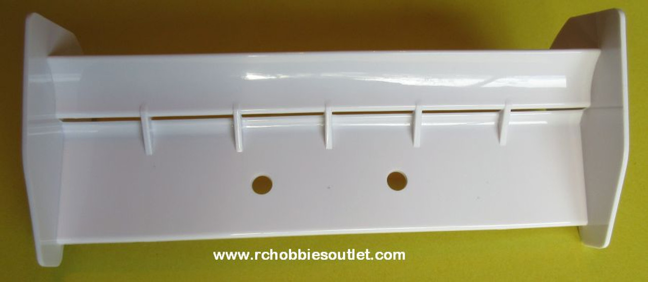 85737  RC Buggy 1/8 Scale Spoiler Rear Wing White