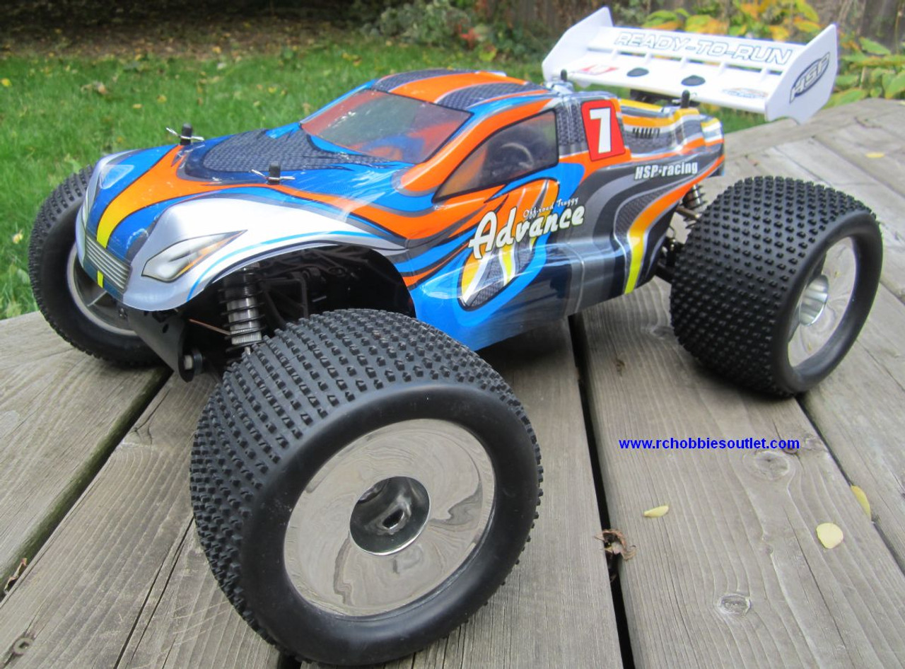 RC Truggy/ Truck Brushless Electric 1/8 Scale TOP  LIPO 4WD 2.4G  08061-3